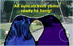 How to Hang a Suncatcher